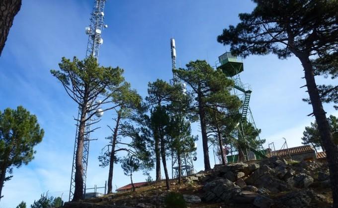 Antena repetidora Alto Los Mayos – Santa Barbara